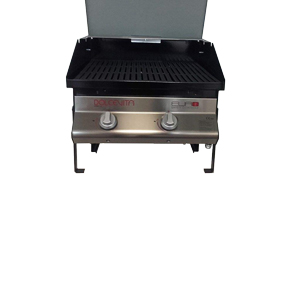 barbecue Dolcevitaego - Euro 2 safety controls built-in