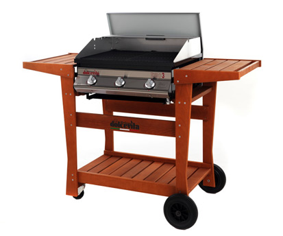 barbecue Serie Euro 3 Safety Controls <br/>con carrello Standard