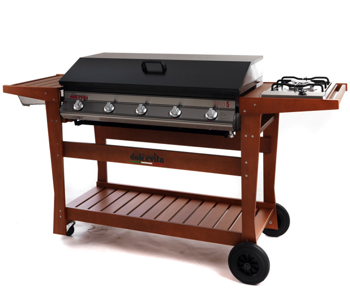 barbecue Serie Euro 5 Deluxe with cooktop