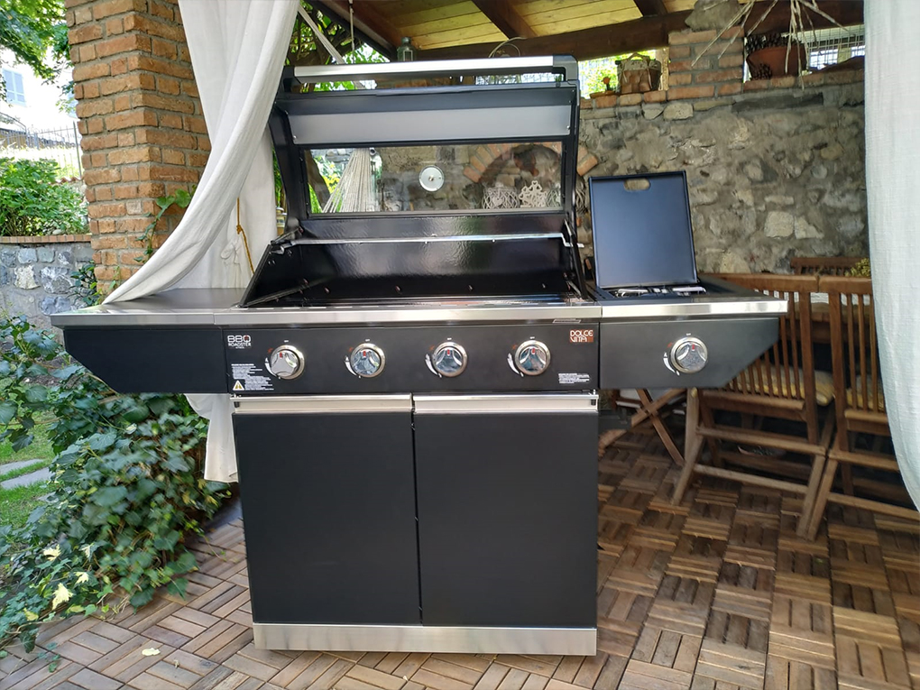 barbecue Roadster - Gas barbecue / methane barbecue.