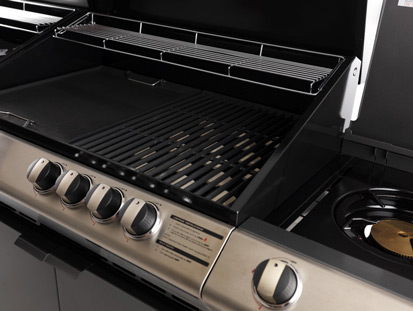 Turbo 6 Classic - barbecue a gas, barbecue a metano